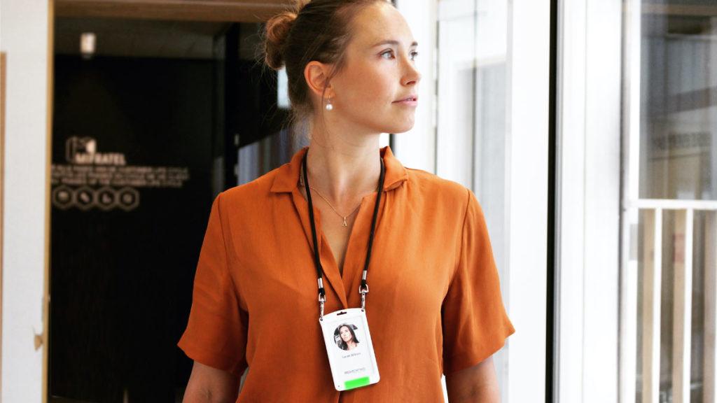 RightCrowd Presence Control - Bluetooth Badgeholder - Employee