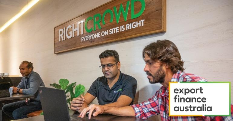 RightCrowd Export Australia Case Study