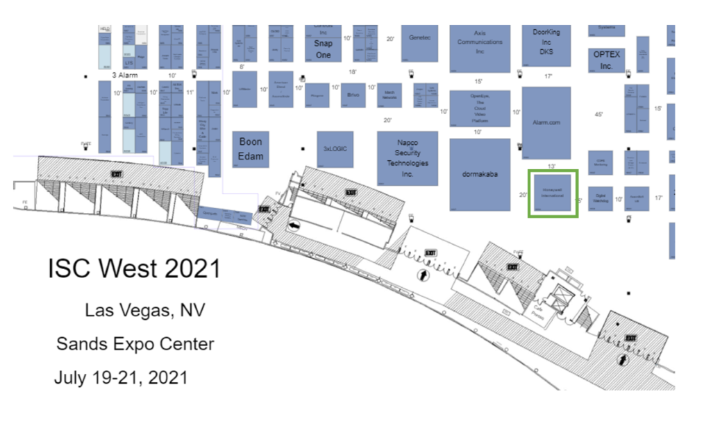 RightCrowd Booth - ISC West 2021